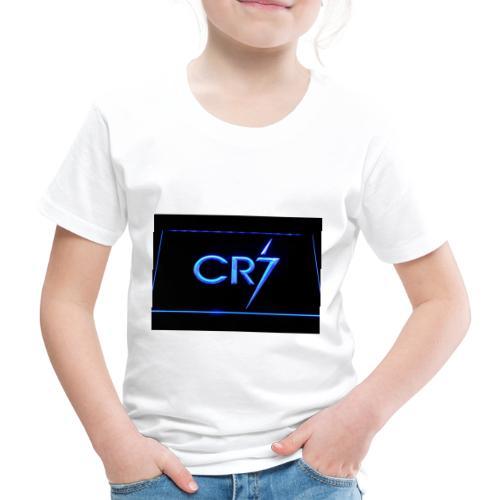 C R 7 neon - Kids' Premium T-Shirt