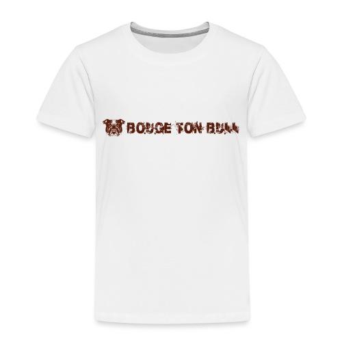 Bouge ton boule - marron-03 - T-shirt Premium Enfant