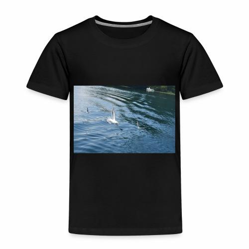 un Gabbiano che vola - Maglietta Premium per bambini
