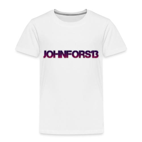 JohnFors13 Logo - Premium-T-shirt barn