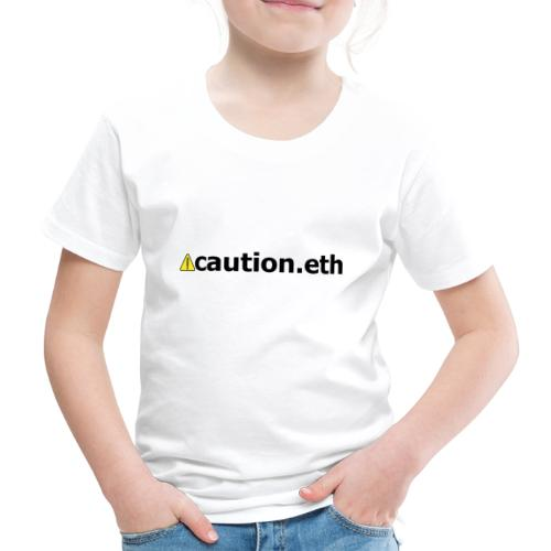 ⚠caution.eth - Kinder Premium T-Shirt