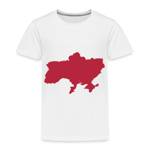 Ukraine Map - Kinder Premium T-Shirt