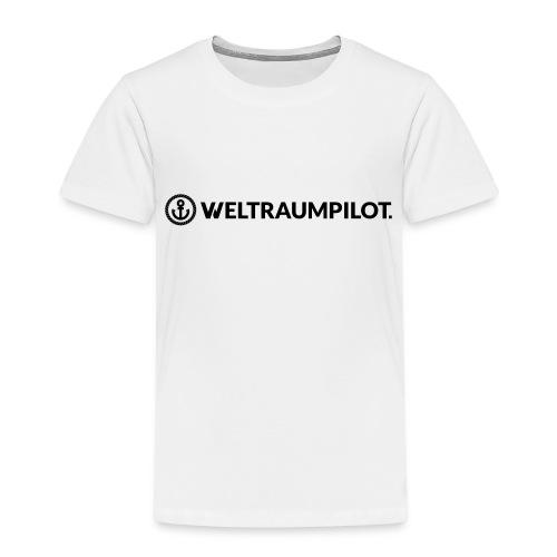 weltraumpilotquer - Kinder Premium T-Shirt