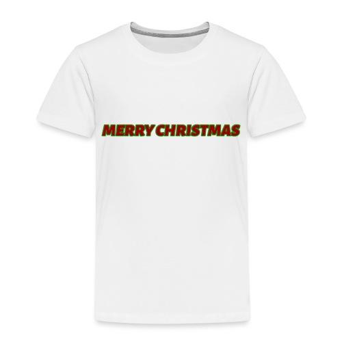 Merry Christmas logo - Kids' Premium T-Shirt