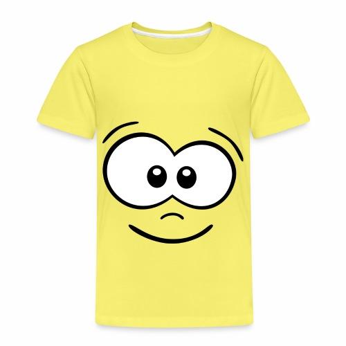 Gesicht fröhlich - Kinder Premium T-Shirt