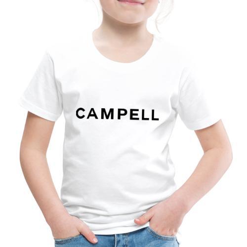 campell schriftzug2 - Kinder Premium T-Shirt