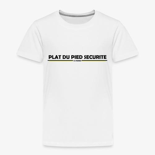 PLATDUPIED - T-shirt Premium Enfant