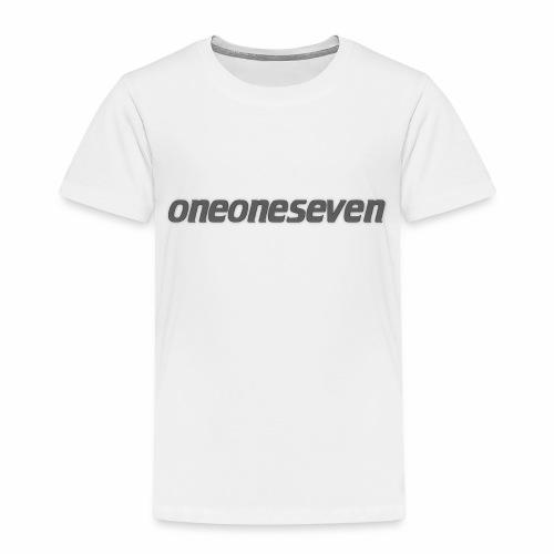 oneoneseven v1 - Kinder Premium T-Shirt