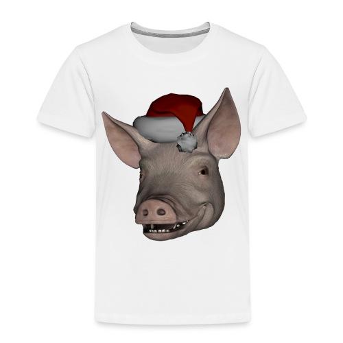 Merry Christmas - Premium T-skjorte for barn