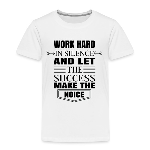 Work hard - Lasten premium t-paita