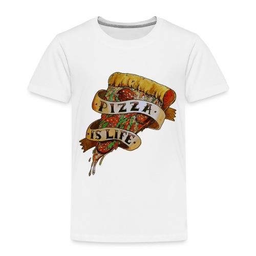 Pizza is Life - Maglietta Premium per bambini