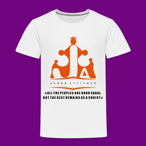 All the peoples are born equal... - T-shirt Premium Enfant