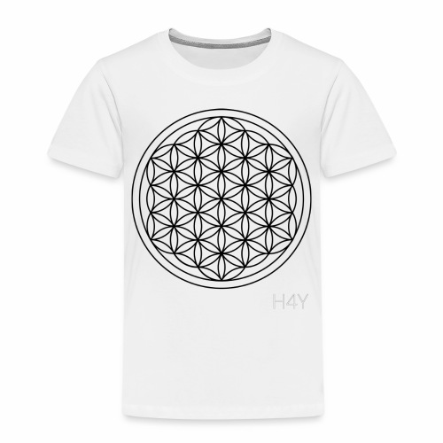 Flower Of Life - This Design Will Heal You - Børne premium T-shirt