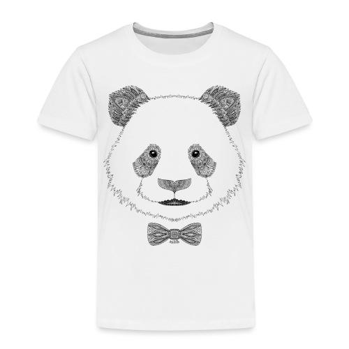 Panda tête noeud papillon - T-shirt Premium Enfant