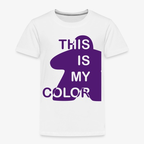 That is my Color - Premium T-skjorte for barn