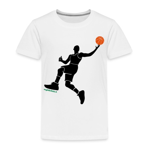 slamdunk_ball - Maglietta Premium per bambini