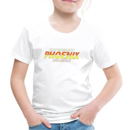 Phoenix Distorted Yellow - Kinder Premium T-Shirt