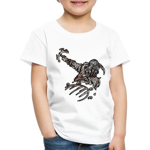 Viking - Premium-T-shirt barn