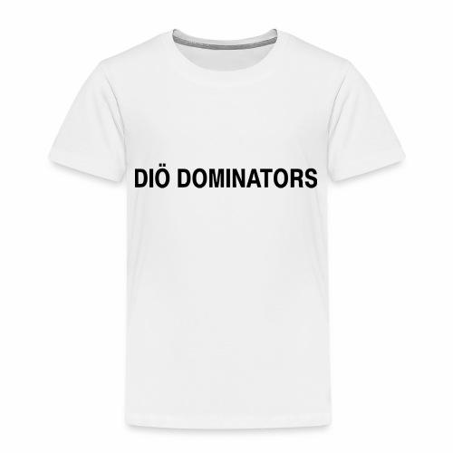 Dominators Svart - Premium-T-shirt barn