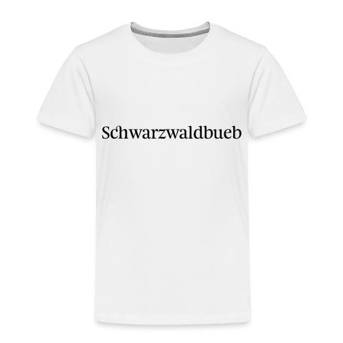 Schwarwaödbueb - T-Shirt - Kinder Premium T-Shirt