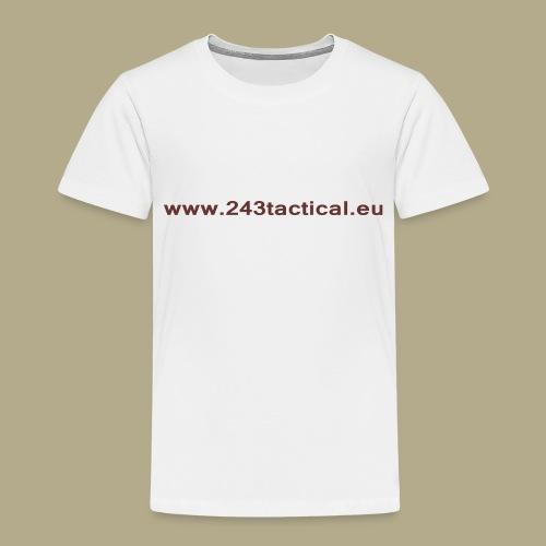 .243 Tactical Website - Kinderen Premium T-shirt