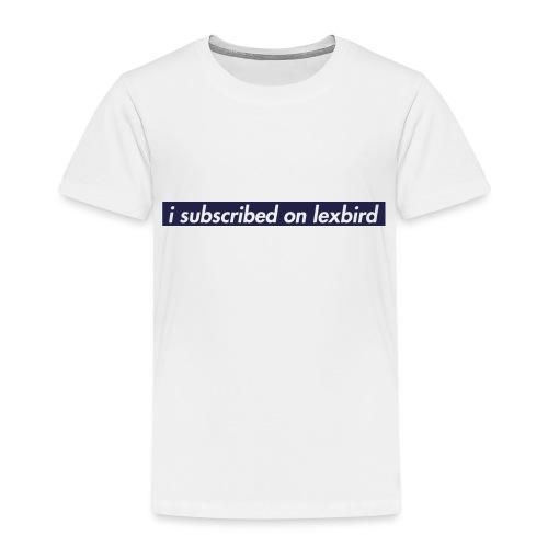 lexbird - Premium-T-shirt barn