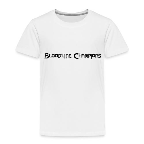 blc logo simple - Kids' Premium T-Shirt