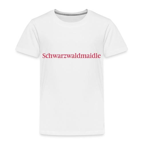 Schwarzwaldmaidle - T-Shirt - Kinder Premium T-Shirt