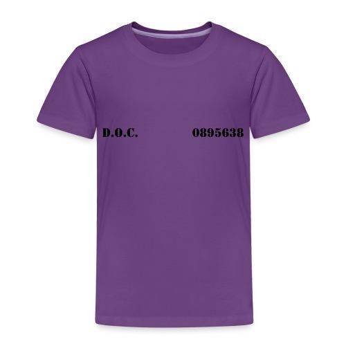 Department of Corrections (D.O.C.) 2 front - Kinder Premium T-Shirt