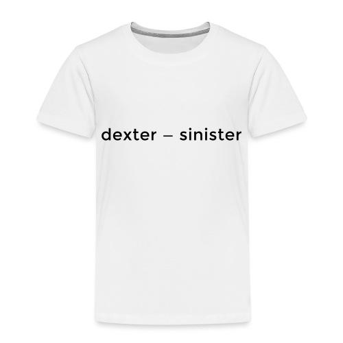 dexter sinister - Premium-T-shirt barn