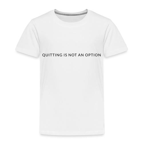 tagline3 - Kids' Premium T-Shirt