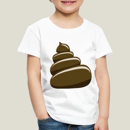 Bajskorv, Turd, Crap, Poop, Shit, Shite - Premium-T-shirt barn