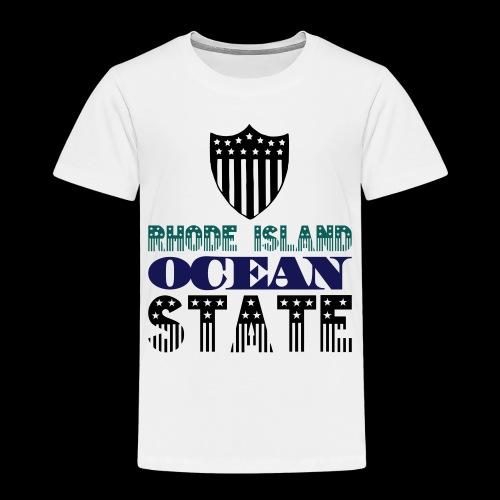 rhode island ocean state - Kids' Premium T-Shirt