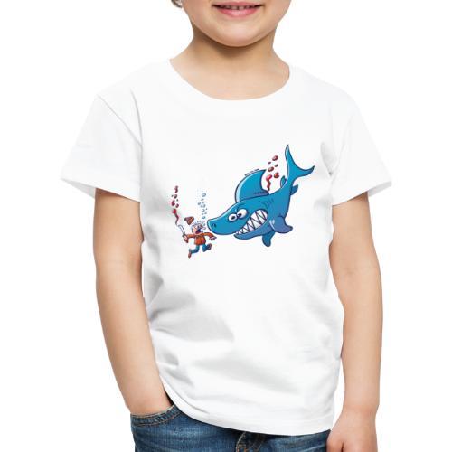Sharks are Furious, Stop Finning! - Kids' Premium T-Shirt