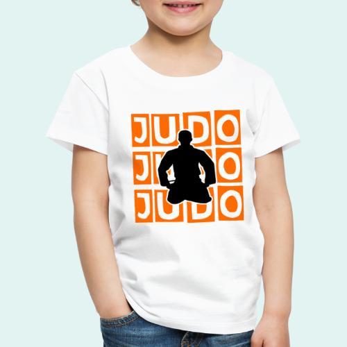 Motiv Judo Orange - Kinder Premium T-Shirt