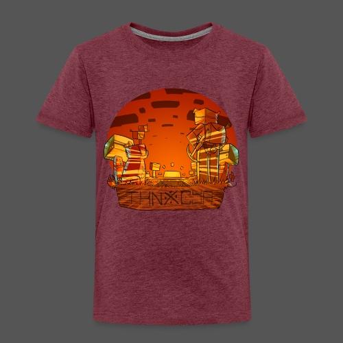 ThnxCya tshirt sunset design by Jonas Nacef png - Kids' Premium T-Shirt