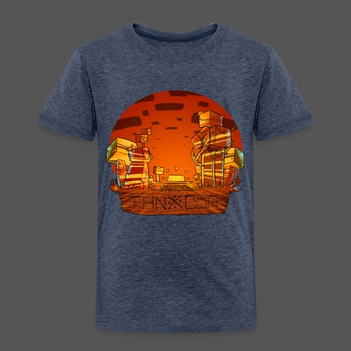 ThnxCya tshirt sunset design by Jonas Nacef png - Kids' Premium T-Shirt