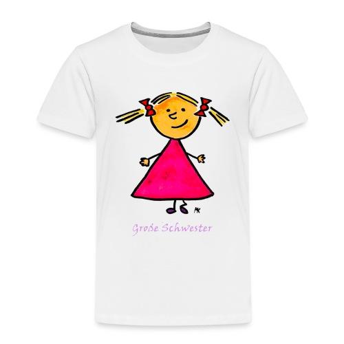 schwestergroß png - Kinder Premium T-Shirt