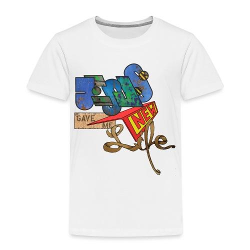 JesusNewLife - Kinder Premium T-Shirt