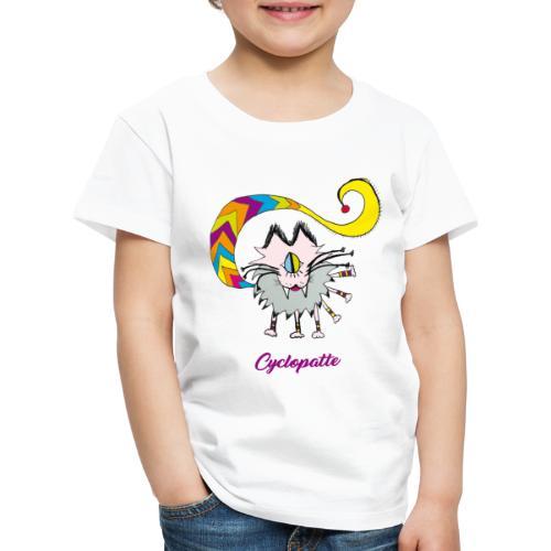 Cyclopatte - T-shirt Premium Enfant
