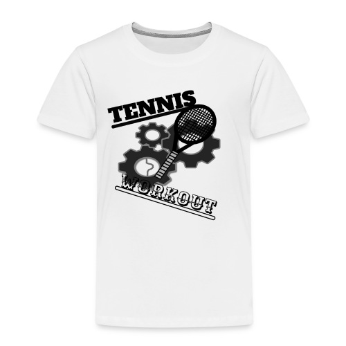 TENNIS WORKOUT - Kids' Premium T-Shirt