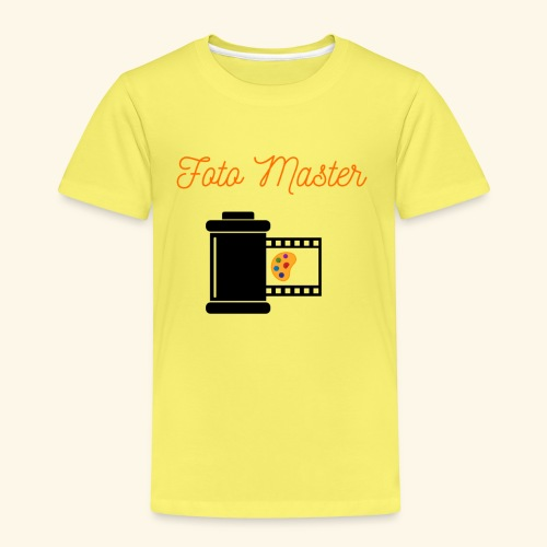 Foto Master 2nd - Børne premium T-shirt