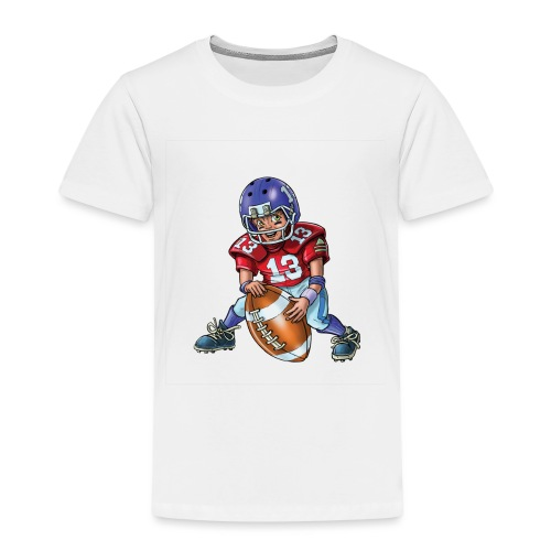 Little american football player - Kids' Premium T-Shirt
