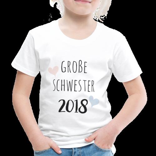 Große Schwester 2018 - Kinder Premium T-Shirt
