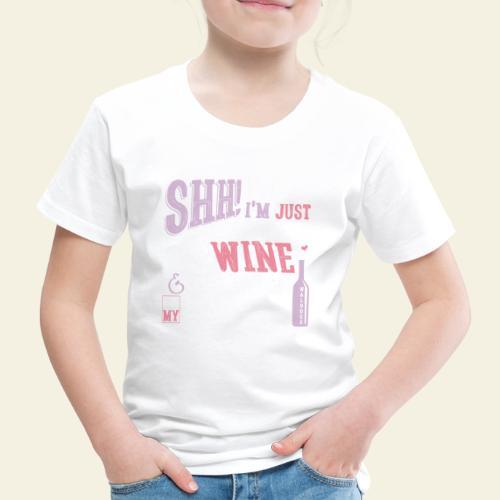SHH Bullmastiff Wine - Lasten premium t-paita