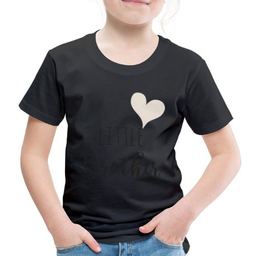 Little brother herz - Kinder Premium T-Shirt