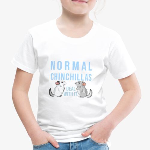 Chinchilla Normal II - Lasten premium t-paita