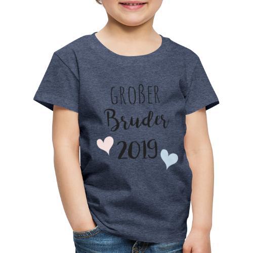 Großer Bruder 2019 - Kinder Premium T-Shirt