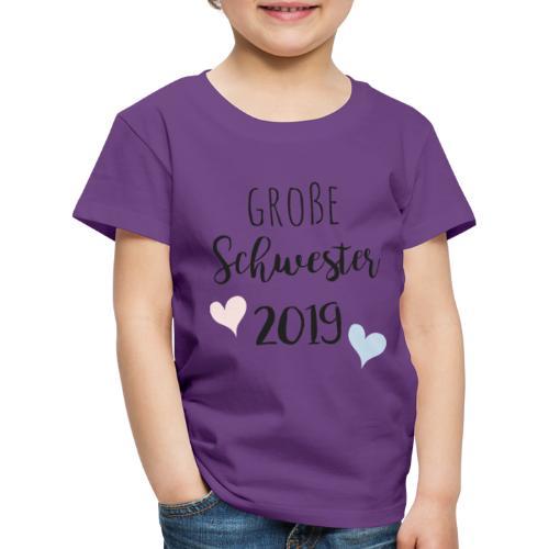 Große Schwester 2019 - Kinder Premium T-Shirt