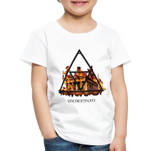 DANGEROUS FIRE - Maglietta Premium per bambini